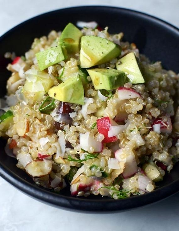 Speckled Salad With Quinoa, Leek, Bacon, & Chervil From 'Home Made ...