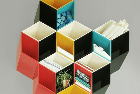 Optical Illusion Shelves 570 x 382