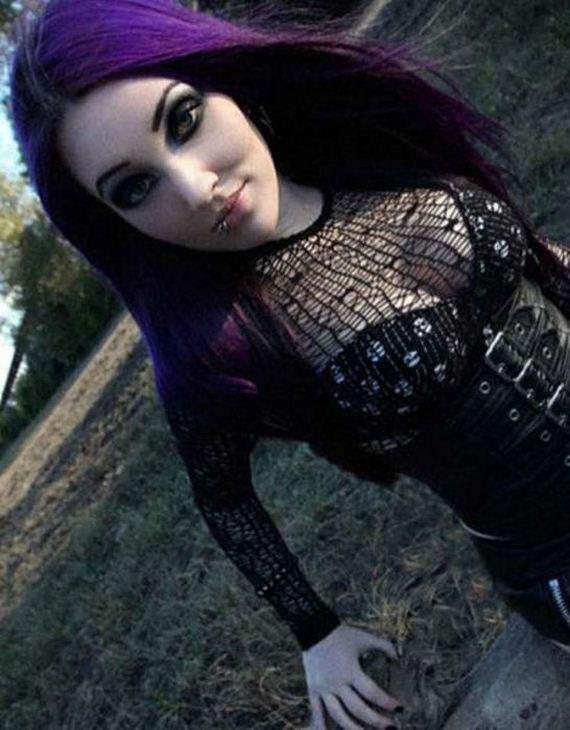 from Asa cute gothic teen girls nude photos