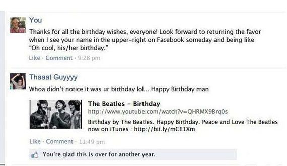 every_facebook_birthday_wall_ever