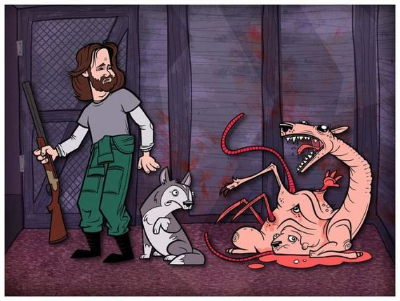 famous-movies-as-cartoons