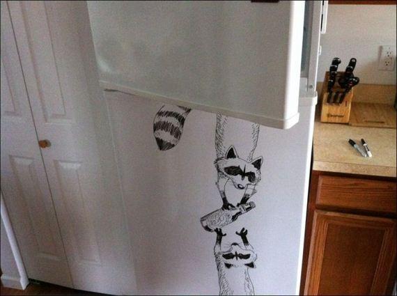 fridge-painting