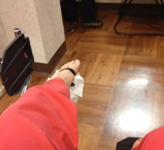 guy-nails-car-key-in-the-foot-in-karate-class