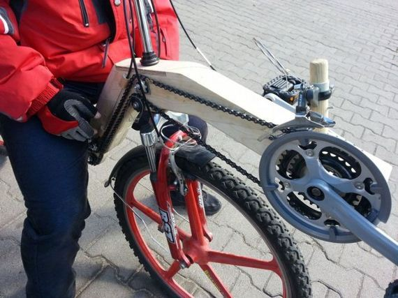 guy_builds_recumbent_bicycle_out_of_wood