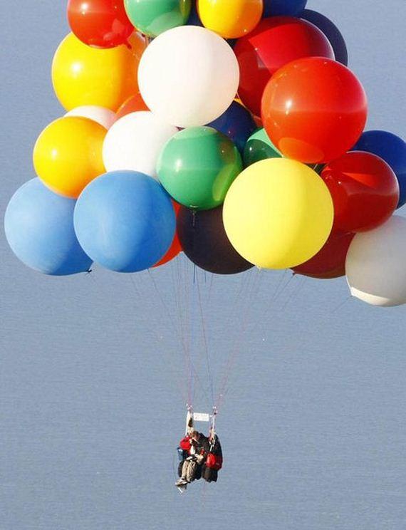 Helium Balloons Flight | Barnorama