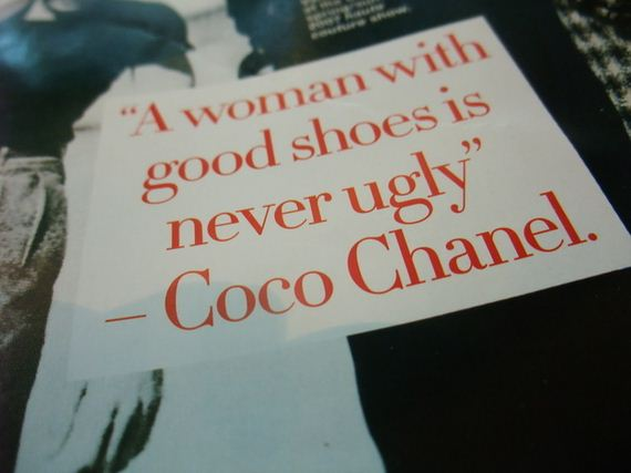 Coco Chanel Quotes About Shoes