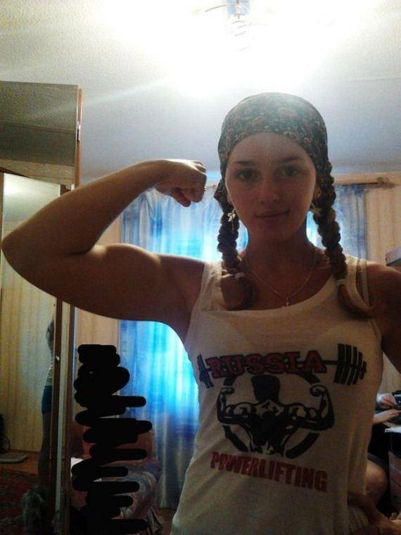 Julia Vins On Twitter Teamrsp Gometalteam Juliavins: Strong Girl Julia Vins