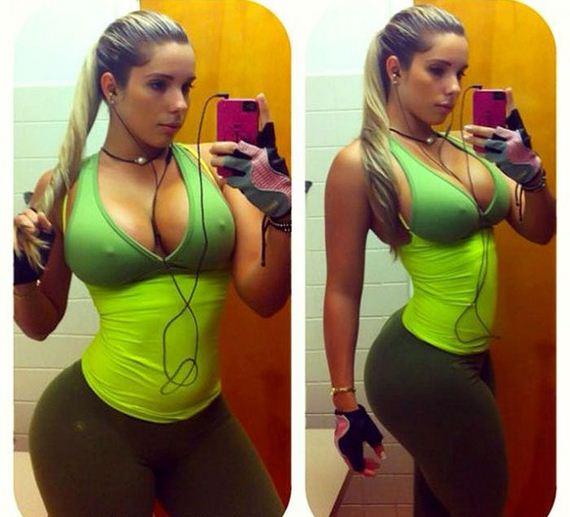 Вот же ж! Кэти Феррейро - кубинская модель, у которой очень большая попа.