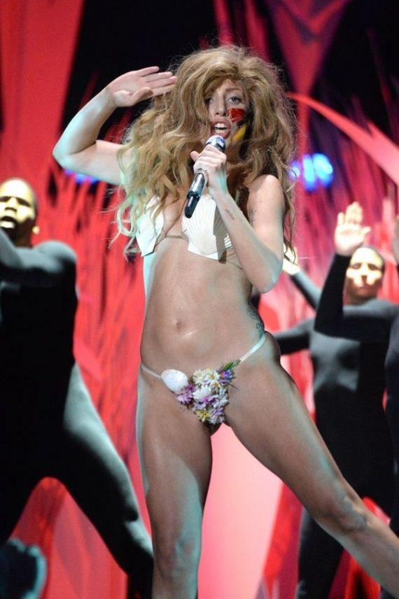 Lady Gaga At Mtv Vma 2013 - Barnorama-7808