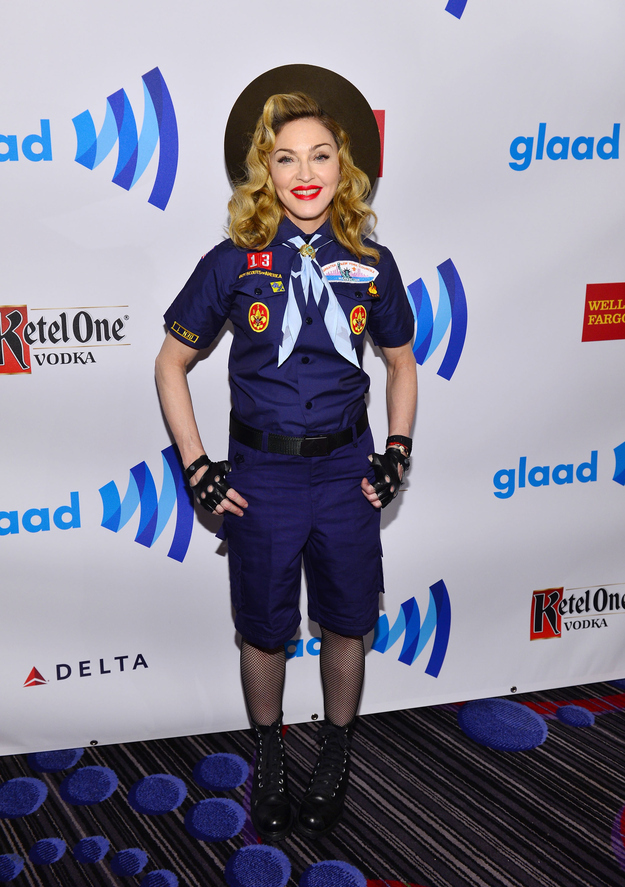 madonna- GLAAD-media-awards