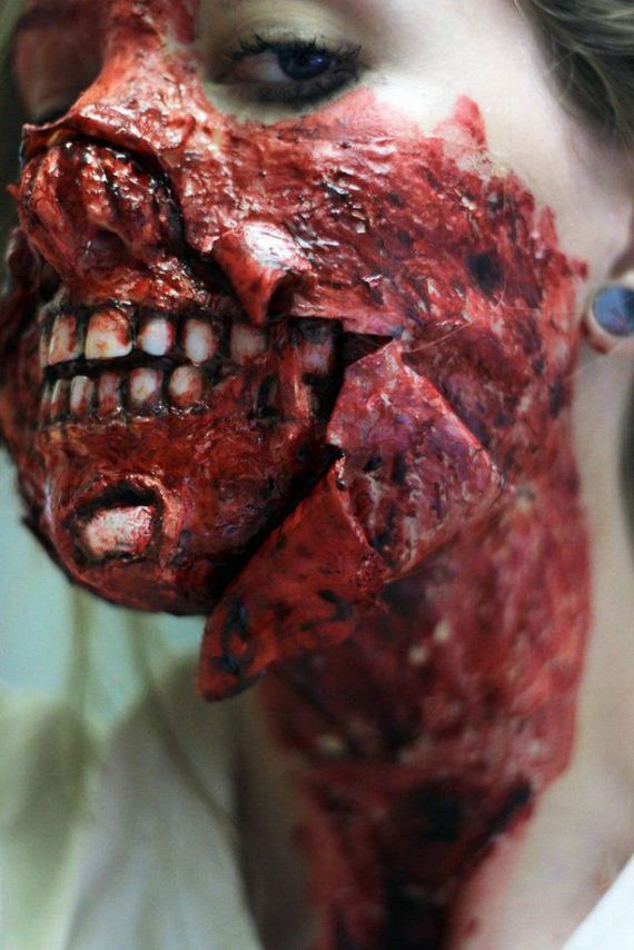 making-of-the-zombie-mask