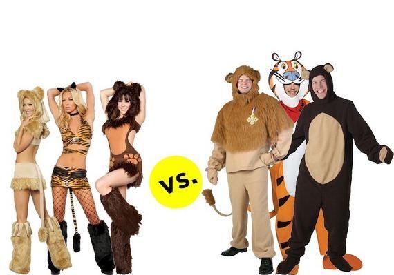 men's,women's,costumes