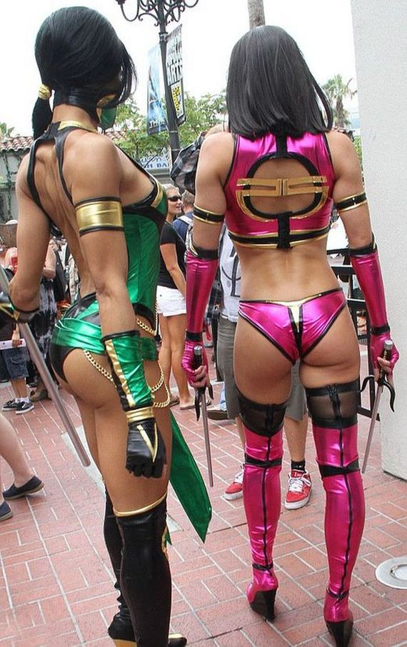 sexy mortal kombat girls