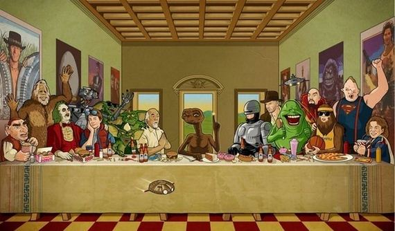 "Pop Culture Parodies Of ""The Last Supper"" - Page 2 of 2 ..."