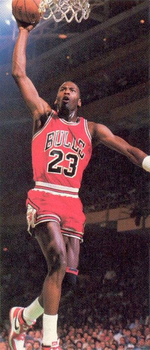 30 year anniversary of Michael Jordans famous free-throw
