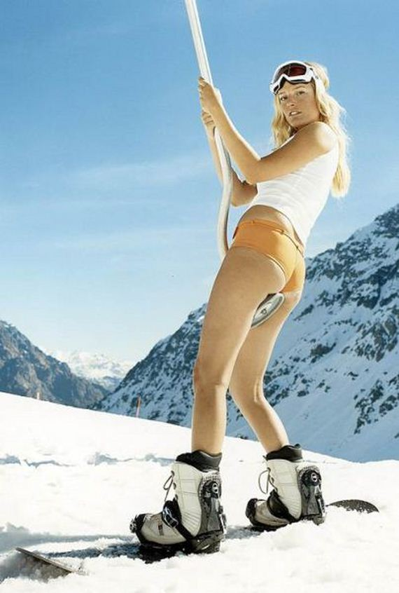 from Leo hot snowboard girl naked