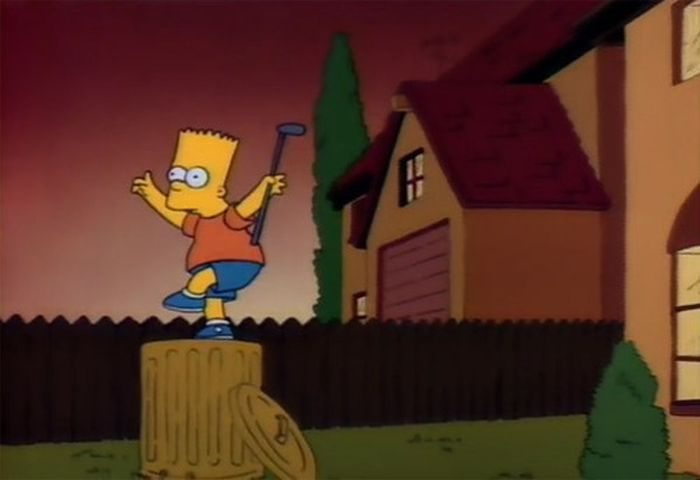 the simpsons copying famous movies barnorama