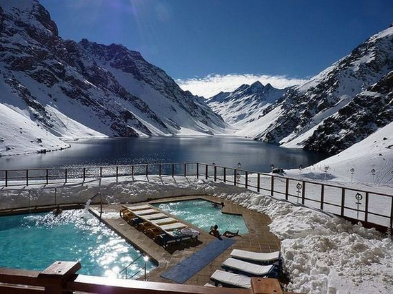 the world s most beautiful winter pools awesome the bucket list life. Black Bedroom Furniture Sets. Home Design Ideas