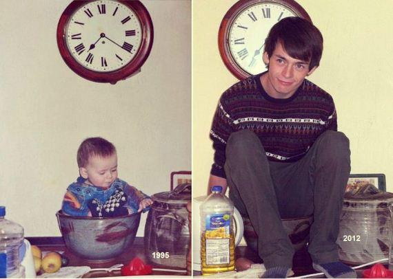 04-then-now-1 - How fast time flies... - Family & Parenting