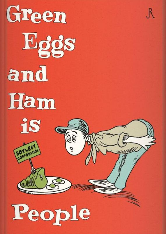 Video Game and Sci-fi Dr. Seuss Children's Book Covers ...