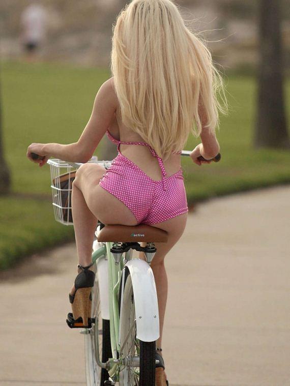Courtney Stodden In Swimsuit Ride Bikie In La - Barnorama-6564