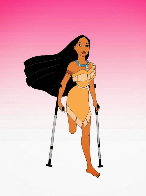 Disabled-Disney-Princess-Ariel