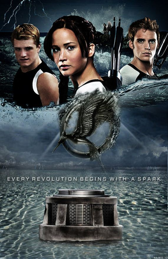 """Fan-Made """"Catching Fire"""" Movie Posters You Have To See ..."""