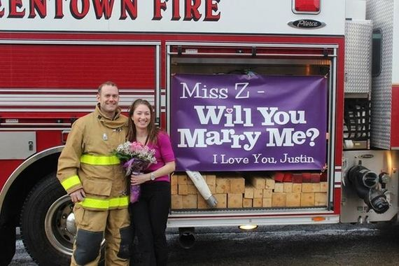 Firefighters-Propose