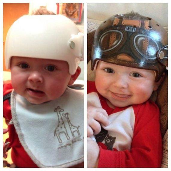 Helmets-Babies