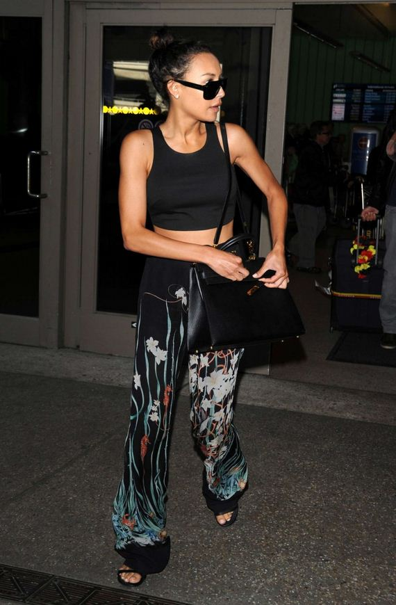 Naya-Rivera-LAX