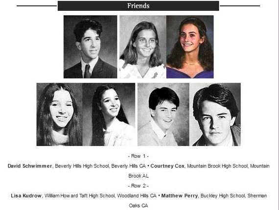 Funny Yearbook Names: Yearbook Photos Of TV Stars Together