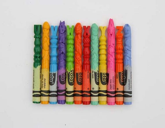 crayon-carvings