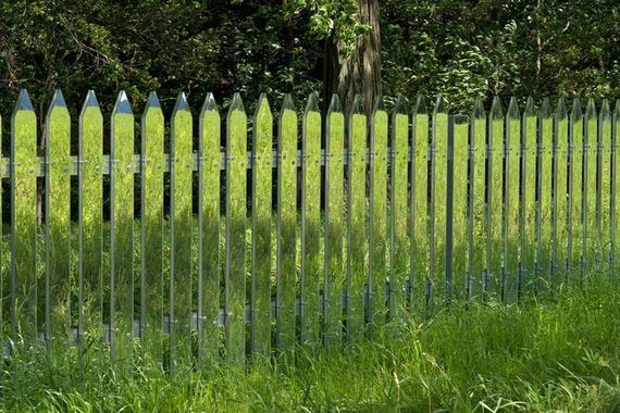 fence-mirrors-reflects