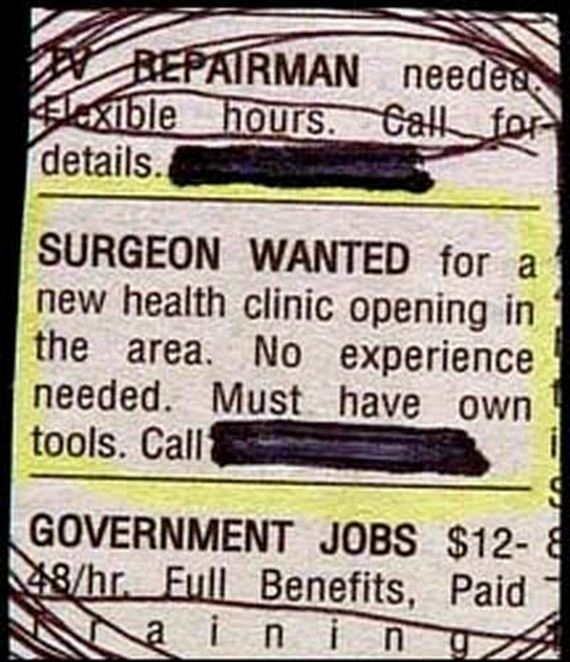 Funny personal ad for hookup site