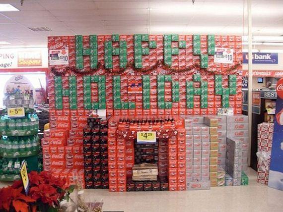 Coca Cola Gifts >> Holiday Soda Displays - Barnorama