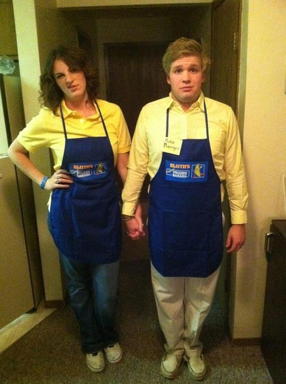 4. Maeby and George Michael ( Arrested Development )  sc 1 st  Odyssey & The Most Fantastically Nerdy Couplesu0027 Costumes