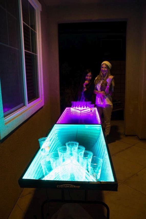 led beer pong table barnorama. Black Bedroom Furniture Sets. Home Design Ideas
