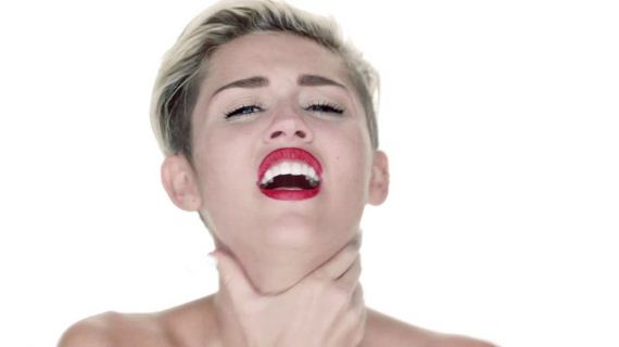 Miley Cyrus Rides A Wrecking Ball Naked In New Music Video - Barnorama-8990