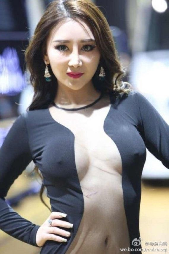 model_at_guangzhou_auto_show