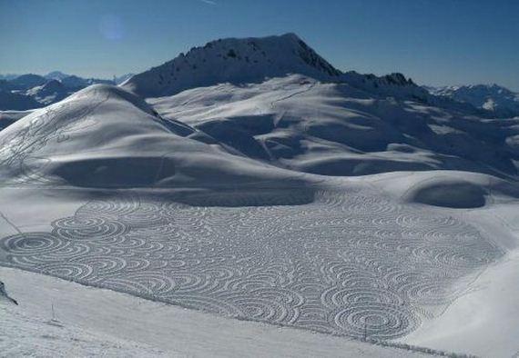 snow-sculptures