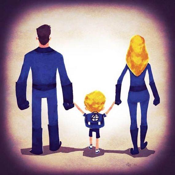 super_heroes_families