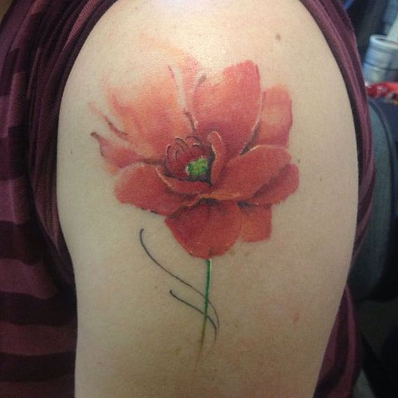 Watercolor tattoos barnorama for Water paint tattoo