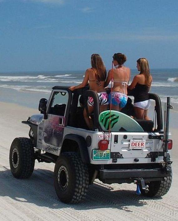 Hot Girls Amp Jeeps Barnorama