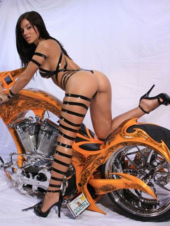 Sexy-biker-κορίτσια