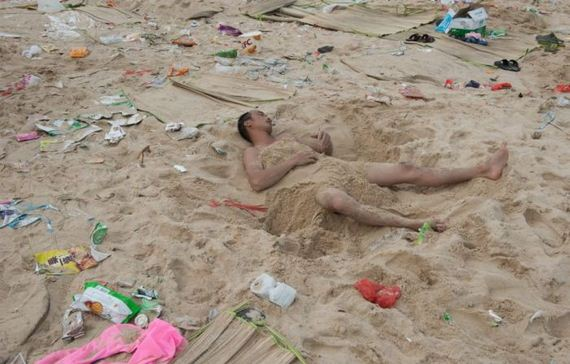 China Has Some Dirty Beaches Barnorama