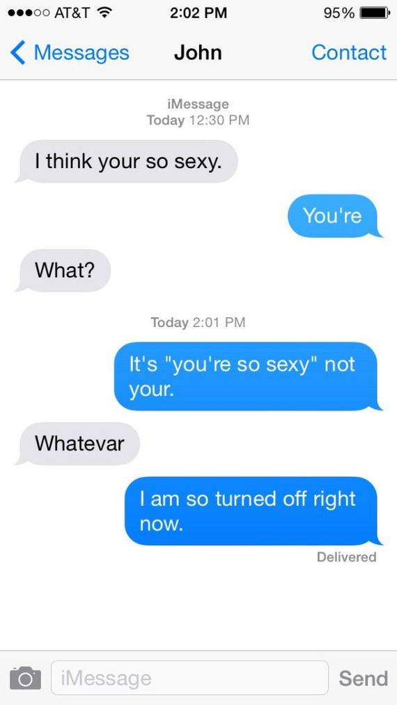 When Sexting Goes Wrong Barnorama
