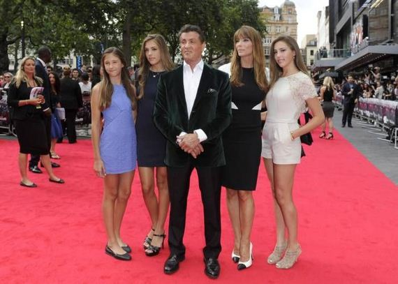 stallone_wife_daughters