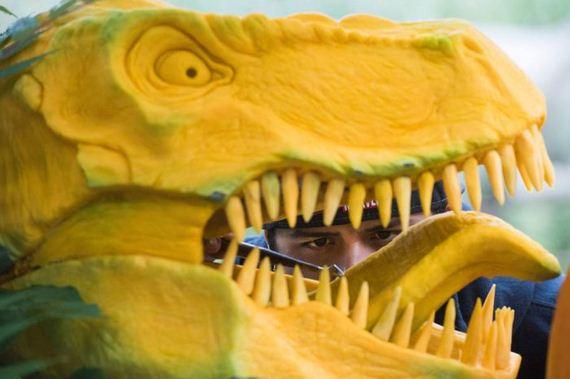 t_rex_pumpkin