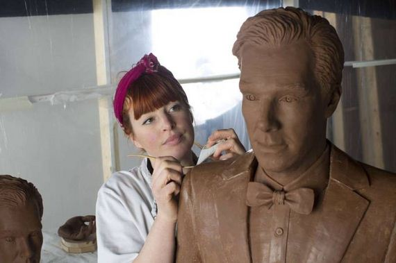 Benedict-Cumberbatch-chocolate-sculpture
