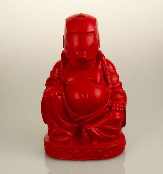 Buddha-superhero